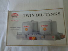 MODEL POWER 1:87  HO SCALE SHELL TWIN OIL TANKS