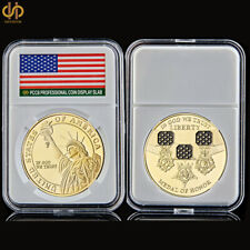 USA Lady Liberty Gold Coin In God We Trust Medal of Honor Commemorative Coin