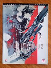 Guide officiel Metal Gear Solid 2 / fr intégral / tbé / envoi rapide et protégé