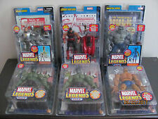 NEW figure lot Marvel Legends Iron Man / The Thing / Grey Hulk / Wonder Man Hulk