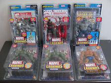 NEW figure lot Marvel Legends Iron Man / The Thing / Grey Hulk / Wonder Man Hulk