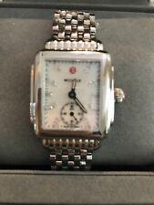 Michele Deco 16 Mid Silver Diamond Watch MW06v00a0048 $895.00