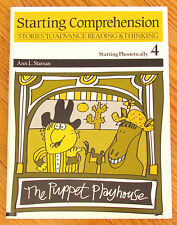 STARTING COMPREHENSION 4 Phonetically Stories to Advance Reading Thinking LK NEW