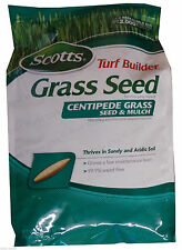 Scotts Centipede Grass Seed & Mulch (Covers 2000 sq. ft.)  - 5 Lbs.