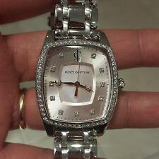Juicy Couture Women's 1900973 Beau Stainless Steel Bracelet Watch $250