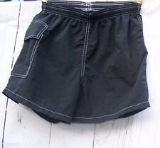 Black Lifeguard Shorts Water Safety Products Size Small Made in USA