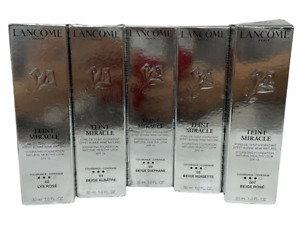 Lancome Teint Miracle SPF 15 Buildable Coverage (1oz/30ml) NEW; YOU PICK!