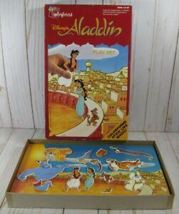 Vintage 1993 Disney's Aladdin Colorforms Play Set #768