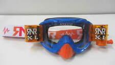 Motocross Enduro MTB Goggles Rip N Roll Hybrid XL Roll Offs R28 XL Blue/Orange