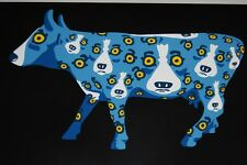 George Rodrigue Blue Dog Walking Across Texas Black Silkscreen Print Signed Art