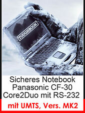 Notebook Panasonic Cf-30 Mk-2 Splash-Proof 4gb Touch Screen Rs 232 Umts Modem