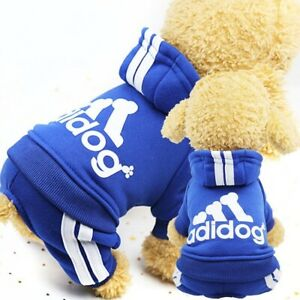 Pet Dog Clothes Cat Puppy Coat Winter Hoodies Warm Sweater Jacket Clothing