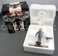 "Brandon Lee The CROW 9"" Hand Painted Cold-Cast Porcelain Statue Inteleg Int '94"