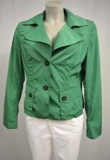 TAIFUN Frühlings Sommer kurze Jacke Damen Gr. M-L grün