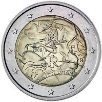 Italien 2 Euro 2008 bankfrisch 60 Jahre Menschenrechte Gedenkmünze