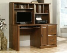 NEW (Low Price!) Beautiful Computer Desk with Hutch - Milled Cherry Finish