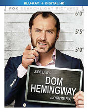 Dom Hemingway (Blu-ray Disc, 2014) Jude Law, NEW & SEALED