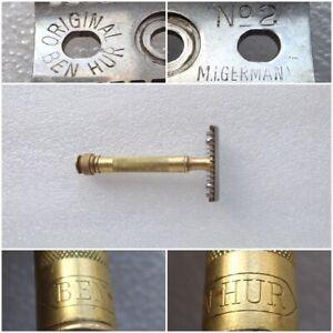 Very Rare Vintage 1930s Germany BEN HUR №2 Safety Razor
