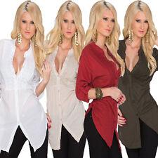 Locker sitzende Damenblusen, - tops & -shirts aus Baumwolle für Party-Anlässe