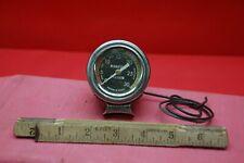 New ListingOld Us Gauge U S Vintage Dash Instrument vacuum gauge lighted column mount 60s