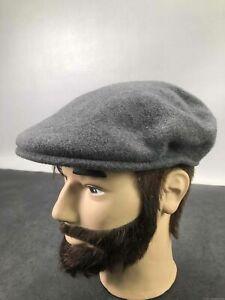 Men's Kangol Gray Wool Hat, Sz. M