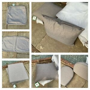Alexander rose Matching quality garden furniture cushions ,pillows,covers only