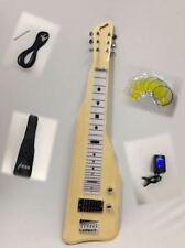 Haze SEG-217N Electric LAP Steel Guitar with Gig Bag - Natural