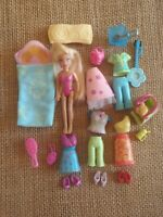 Polly Pocket Does Flowers Power Clothes Outfits Dolls 9-90