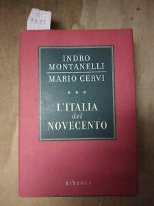 l'Italia del Novecento Montanelli Cervi