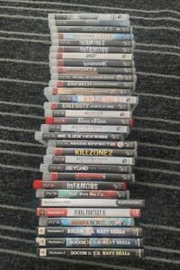 Playstation 2 PS2 And Playstation 3 PS3 Games - Pick Your Games