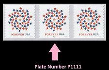 US 5130 Patriotic Spiral forever PNC3 MNH 2016