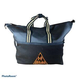 Def Leppard VIP Logo Duffle Bag From 2018 Tour VIP Gift