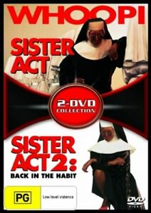 Sister Act  / Sister Act 02 - Back In The Habit (DVD, 2006, 2-Disc Set) R4