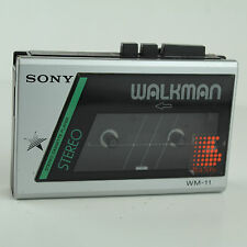 1980's Sony Walkman WM-11 Cassette Player (Working) - Vintage 80s Portable