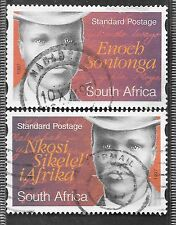 SOUTH AFRICA 1997 E SONTONGA COMPLETE POSTAL USED SET 0289