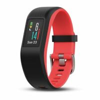 Garmin Vivosport Fuchsia Small/Medium Fitness Tracker with GPS and Built-In HRM