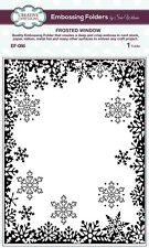 """Sue Wilson Embossing Folder 5 3/4 x7 1/2"""" FROSTED WINDOW Creative Expressions"""