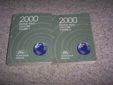 2000 Ford F650 F750 Medium Truck Shop Service Repair Manual 5.9L 7.3L Diesel