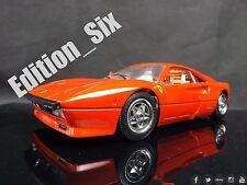 Burago 1:18 1984 Ferrari GTO Italian Sports car Model