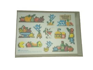 INVADER - veggie sticker sheet with 11 stickers (authentic lim. 400) Banksy obey