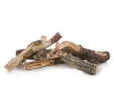 Keramikholz Dekoholz für Bio Ethanolkamin Gelkamin 5-tlg. Set bis 1080 °C braun1