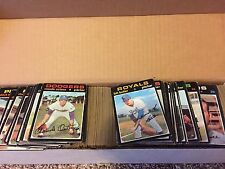 1971 Topps Baseball Card Lot 250 Different Cards Starter Set VG or Better Cond