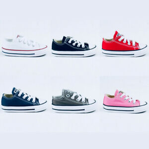Converse Toddlers/Infants C/T A/S OX Low Trainers in UK Size 2,3,4,5,6,7,8,9,10
