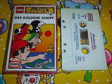 Lego Piraten Kassette MC Folge 6 - Das Goldene Schiff - Hörspiel Europa