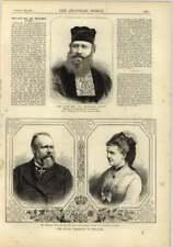 1878 Rev Dr Benjamin Artom Hah Sephardic Congregation Synagogue Bevis Marks