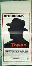 D88-LOCANDINA, TOPAZ, HITCHCOCK, 1° ED.ITALIANA 1969