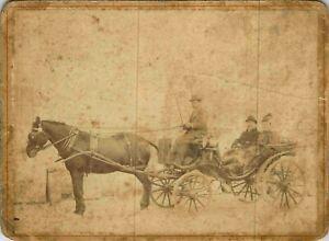 Foto Von Kutsche Ca 1900 Marseille - Emile Enrico St