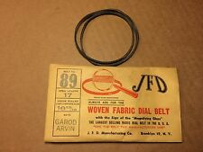 NOS Antique JFD Fabric Radio Dial Belt Number 89 GUARANTEED for Garod Arvin