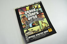 GTA Grand Theft Auto San Andreas Official Video Game Guide with Poster