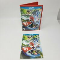 Mario Kart 8 Case, Artwork, and Manual Only (Nintendo Wii U) No Game Great Cond.